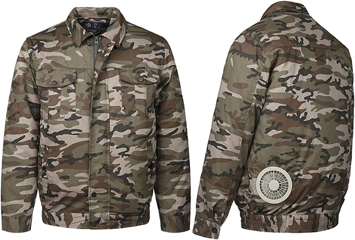 Cooling air Conditioned Jacket with Two Fans to Offer a Cooling for Working Outside in Summer