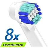 Uca ebs17 set di 4 testine di ricambio per spazzolini - Porta testine oral b ...