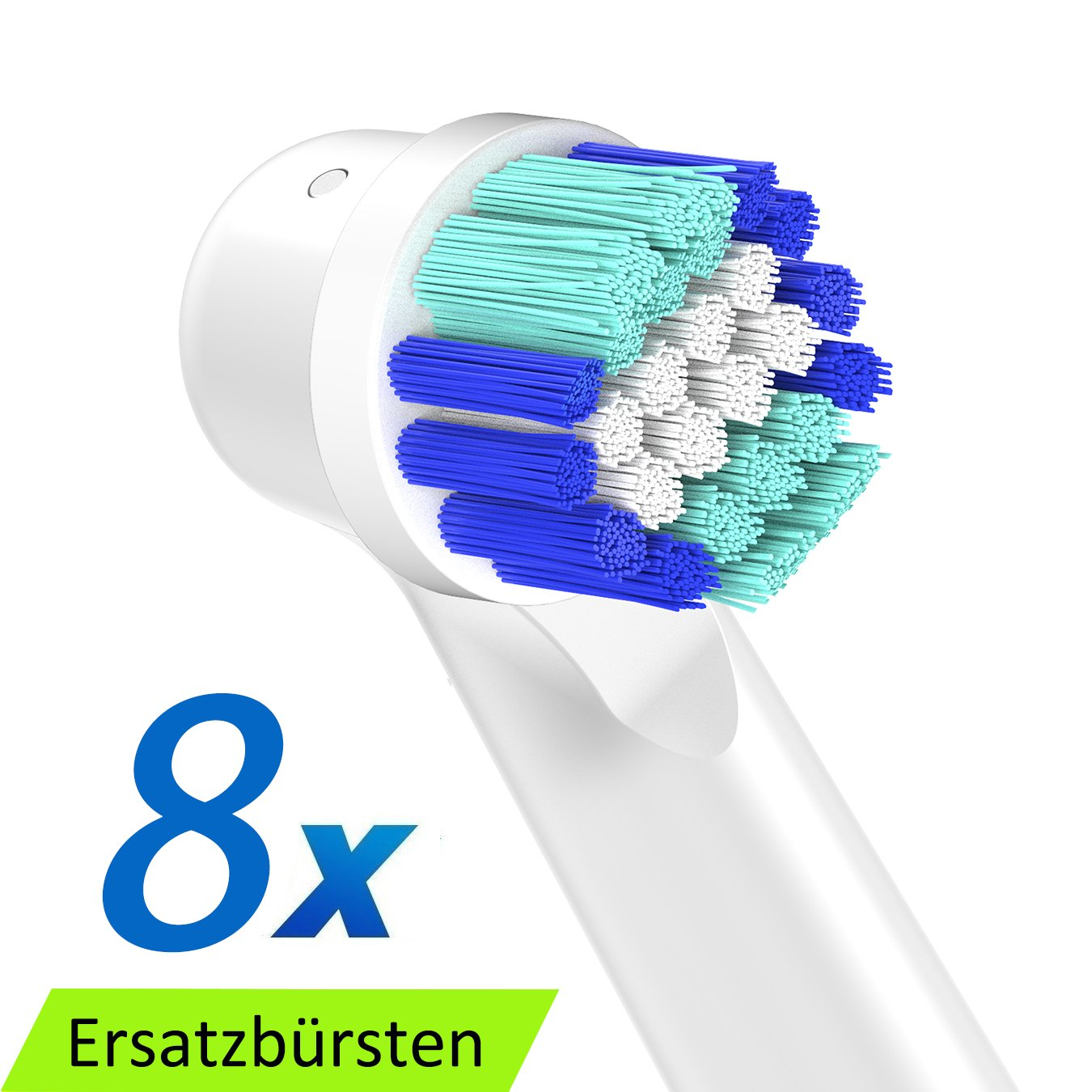 Precision Clean EB20A Cabezales de recambio para cepillo eléctrico recargable SB 20A Oral B Vitality Precision Clean (8 piezas SB-20A): Amazon.es: Salud y ...