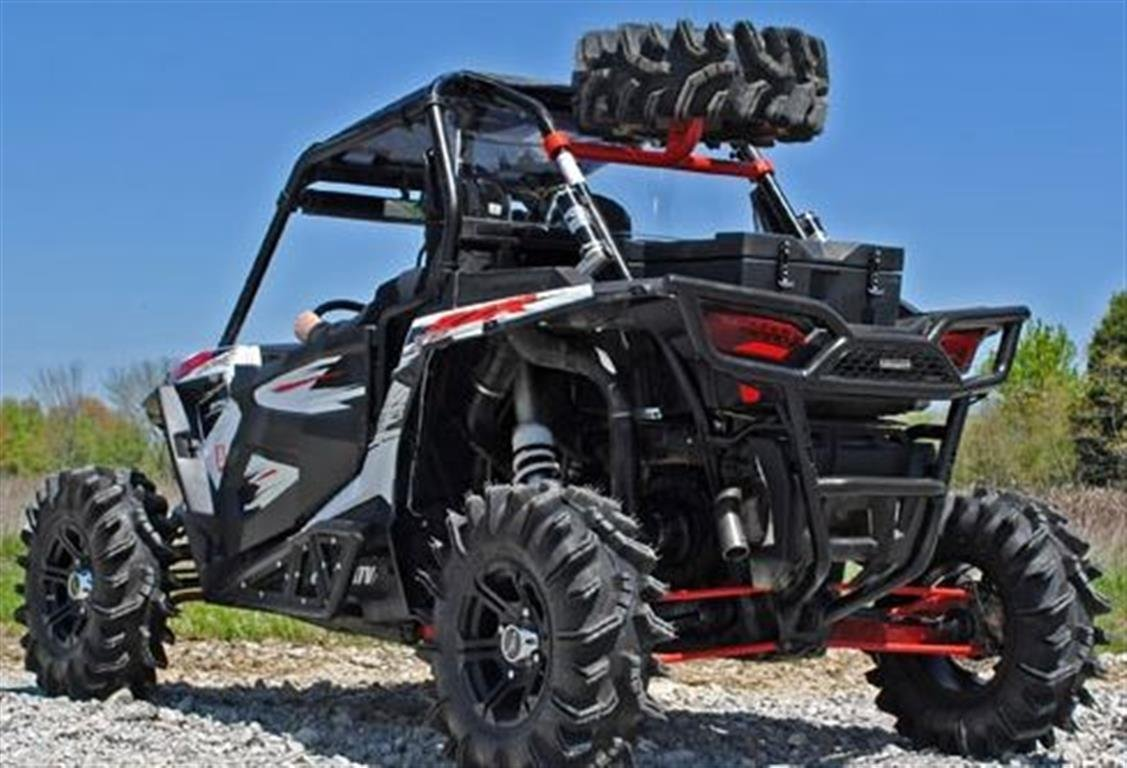 polaris rzr 1000 spare tire carrier wrinkle black xp4. Black Bedroom Furniture Sets. Home Design Ideas