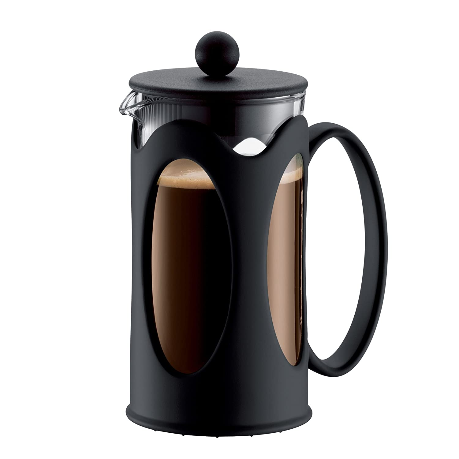 Bodum New Kenya 12-Ounce Coffee Press, Black