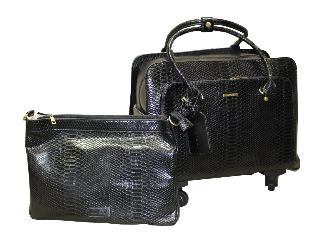 Simply Noelle Nile Roller Bag (Black)