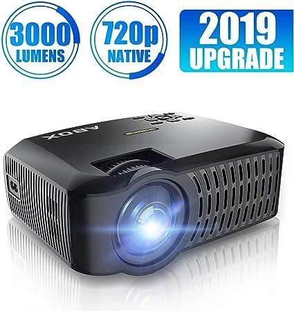 Amazon.com: Proyector de 720P, proyector de vídeo portátil ...