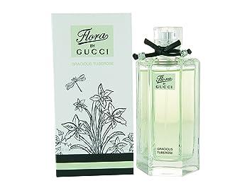 2afe7d7c3 Amazon.com : [Gũcci] Flora Gracious Tuberose EDT Spray For Women 3.4 Oz. :  Beauty