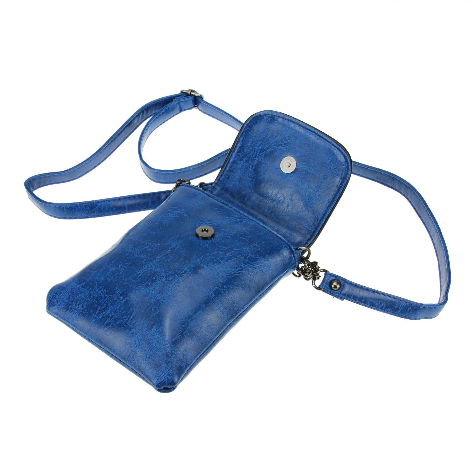 Studded Skull Gothic Mini Chain Crossbody Shoulder Bag Satchel Travel Leather Tote Handbag Purse by Fakeface (Image #5)