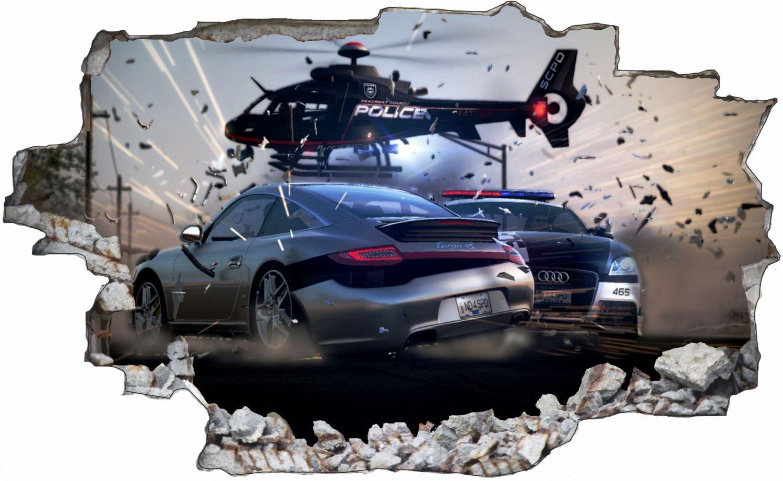 Polizei Polizei Polizei Auto Hubschrauber Verfolgungsjagd Wandtattoo Wandsticker Wandaufkleber C0545 Größe 120 cm x 180 cm B077PPM5KQ Wandtattoos & Wandbilder 9f9a2a