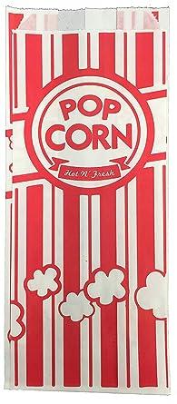 Bolsas de papel para palomitas de maíz Carnival King ...