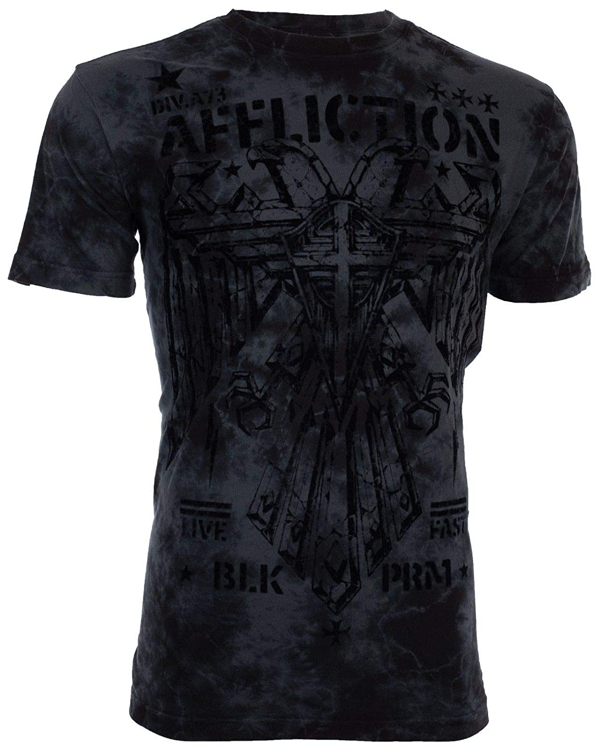 Affliction/  Mens T-Shirt RAIN Skull Reaper Tattoo Motorcycle Biker UFC Jeans