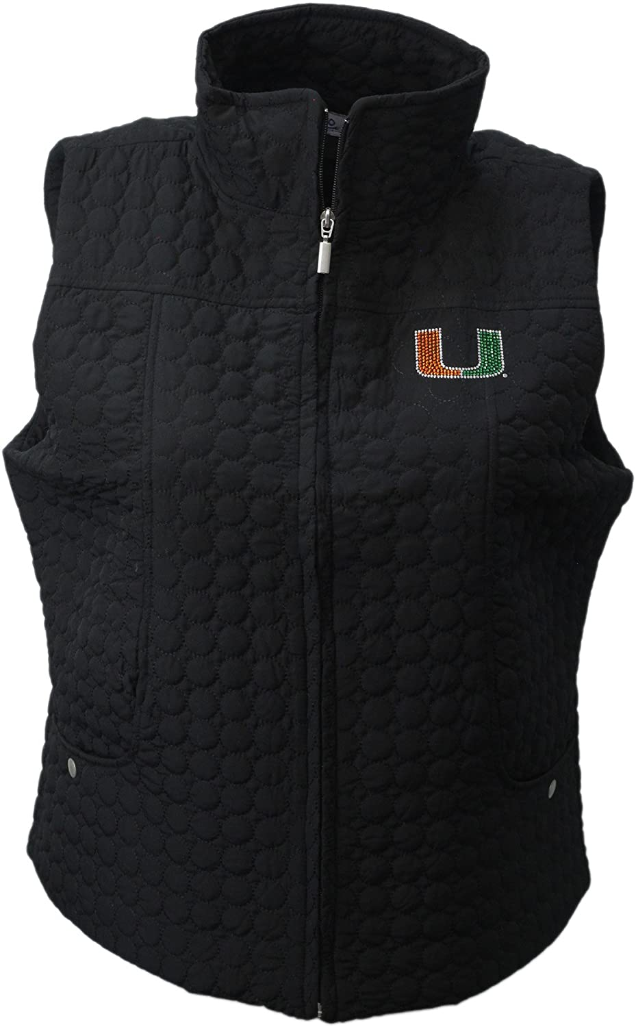 Nitro USA Womens Collegiate Missy Fit Quilted Vest