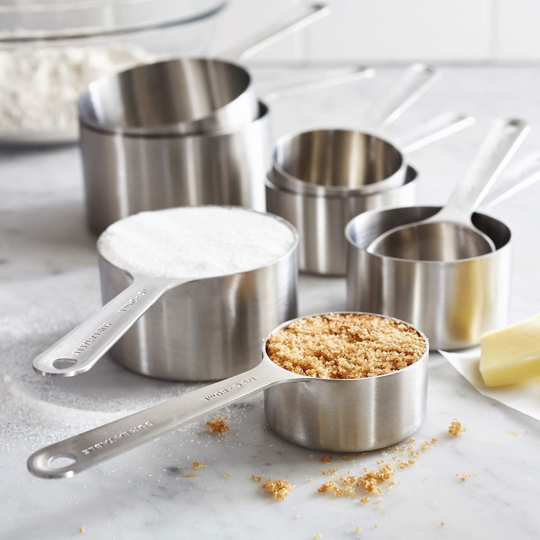 Sur La Table Stainless Steel Measuring Cups, Set of 8 by Sur La Table