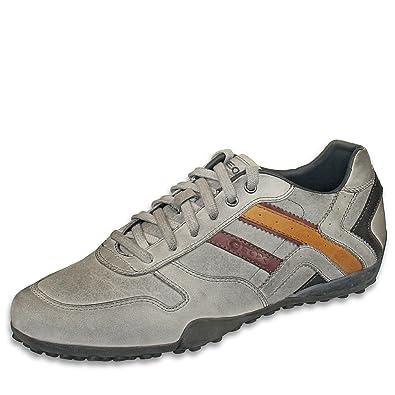 Mit Geox Herrenschuhe Sneakers Gr P 46 Snake Grau Velourleder 0yvm8wNnO
