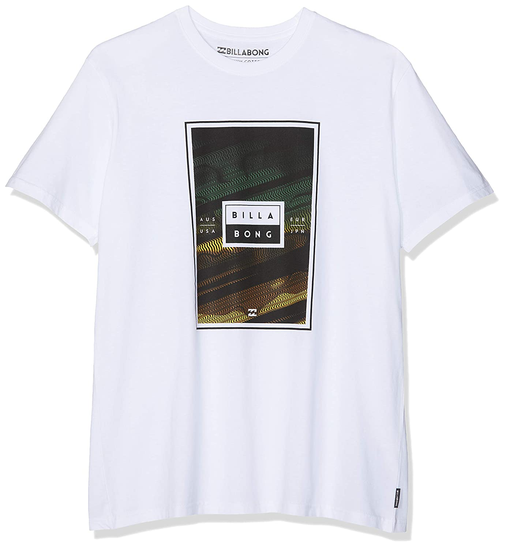 BILLABONG Tucked SS Camiseta, Blanco (White 10), XX-Large (Tamaño del Fabricante:XXL) para Hombre: Amazon.es: Ropa y accesorios