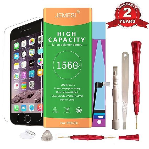Amazon Jemesi Battery For Model Iphone 5s 5c With Repair Tool