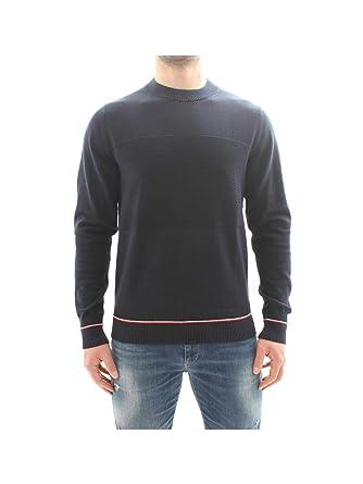 Blue Tommy Hilfiger Men/'s Structured Flag Sweatshirt