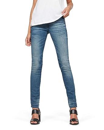 G-Star Lynn Skinny Jeans pour Femme - Bleu - 23W x 36L  Amazon.fr ... 413f7a934295