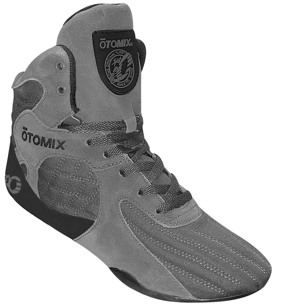 Otomix Men's Stingray Escape Bodybuilding Lifting MMA & Wrestling Shoes Grey 10 by Otomix