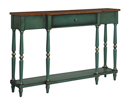 Amazoncom Convenience Concepts Wyoming Two Tone Antique Console