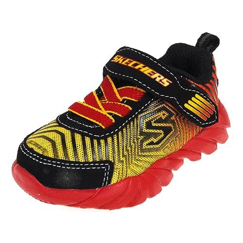 scarpe skechers bambino arancione