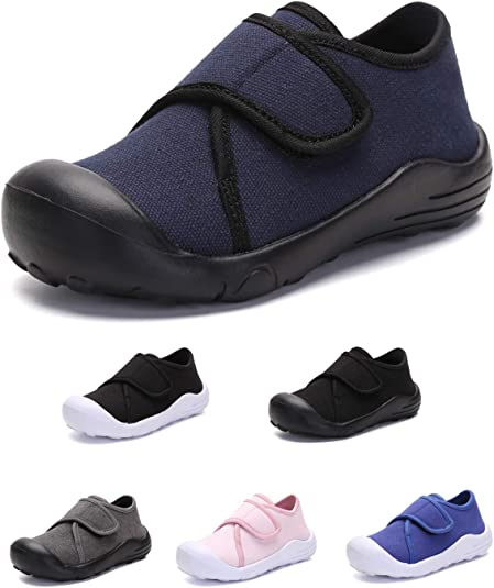 Boys BABY Toddler canvas shoes trainers size 3-7 UK NEW BOY FIRST SHOES!