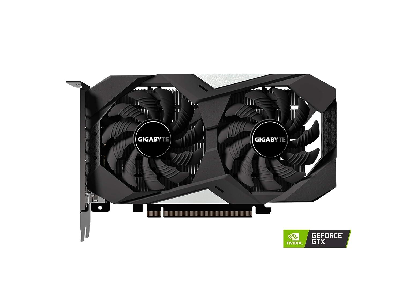 Tarjeta gr/áfica GeForce GTX 1650, 4 GB, GDDR5, 128 bit, 7680 x 4320 Pixeles, PCI Express x16 3.0 Gigabyte GV-N1650OC-4GD