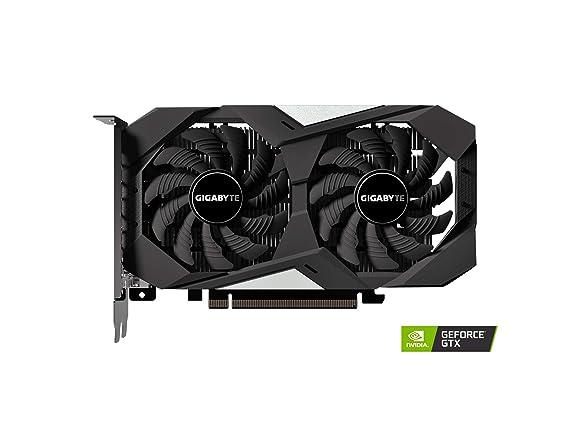 Amazon.com: Tarjeta gráfica GIGABYTE GeForce GTX 1650 OC 4G ...