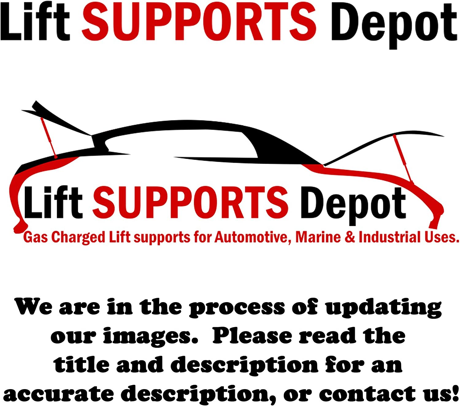 Qty With Spoiler 2 Fits Focus Sedan 2000 To 2005 Trunk Lift Supports