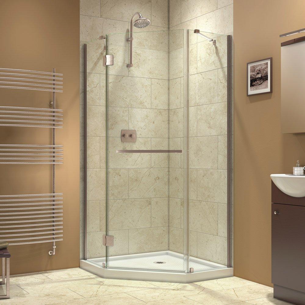 Dreamline Prism X 36 38 By 36 38 Frameless Hinged Shower
