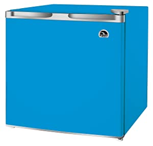 1.6-1.7 Cubic Foot Fridge, Blue