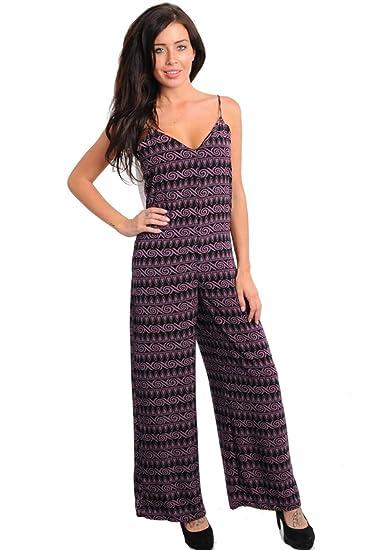 c2b7be72956e Amazon.com  2LUV Women s Sleeveless Tuxedo Pant Romper  Clothing