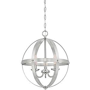 Westinghouse Lighting 6341900 Stella Mira Indoor Chandelier Brushed Nickel