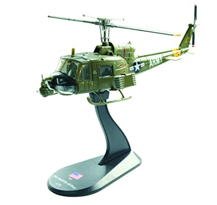 Amazon com: BELL UH-1B Huey diecast 1:72 helicopter model