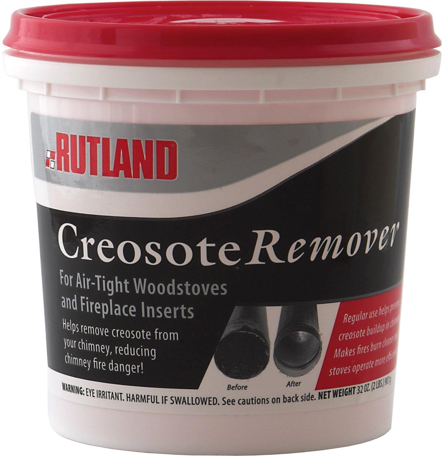 Rutland Dry Creosote Remover Chimney Treatment, 2-Pound
