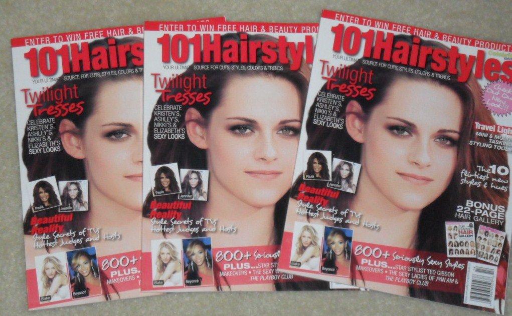 101 Hairstyles Magazine Kristen Stewart Twilight Breaking Dawn 101 Hairstyles Amazon Com Books