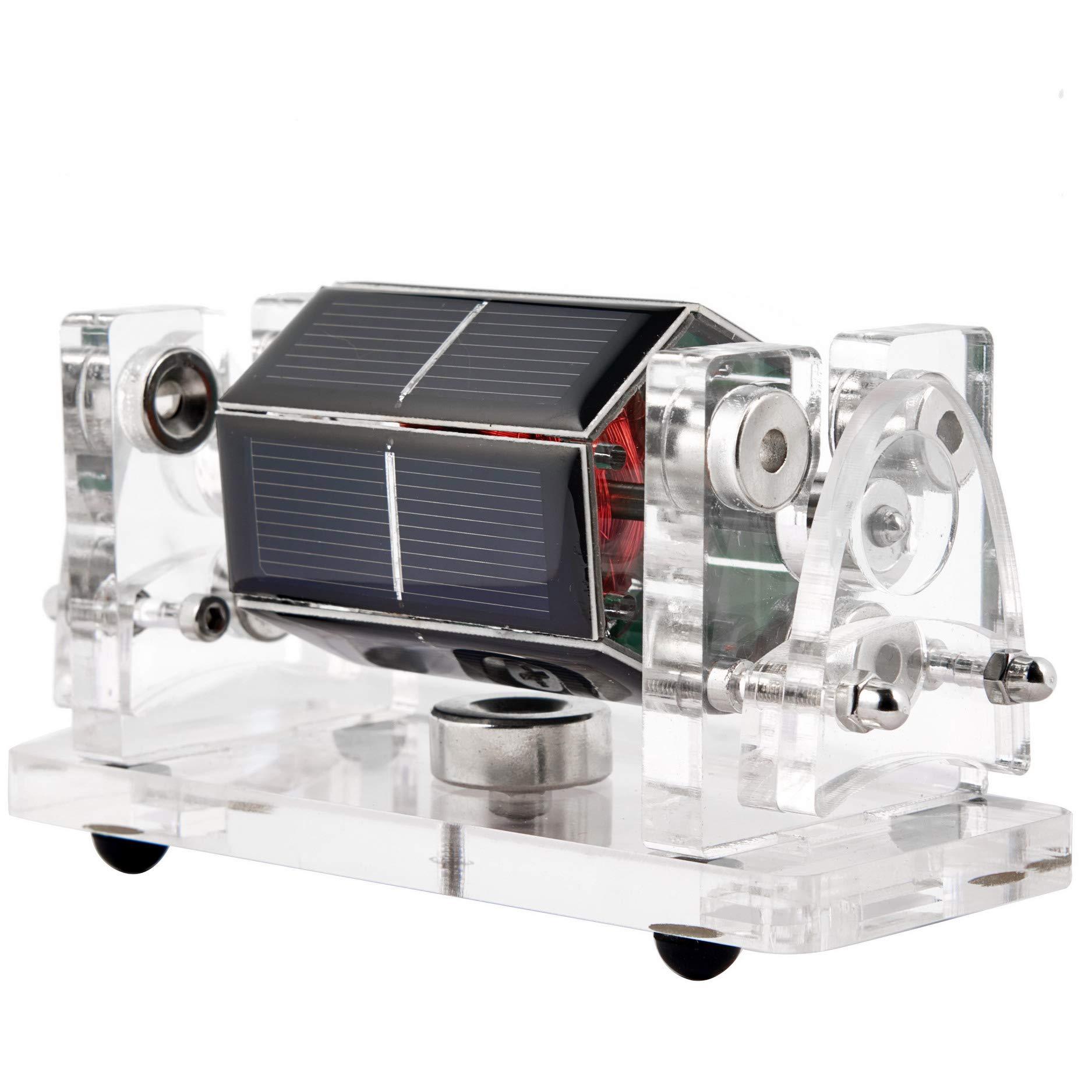 Sunnytech Solar Magnetic Levitation Model Levitating Mendocino Motor Educational Model Three Point Positioning to Avoid Shaking QZ01 by Sunnytech (Image #4)