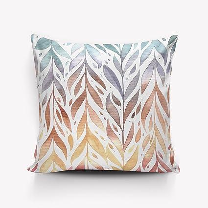 Amazon Com Modern Printed Design Throw Pillows Comfortable