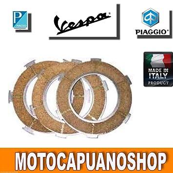 Serie discos embrague Vespa PX 125 150 - arcoíris: Amazon.es: Coche y moto
