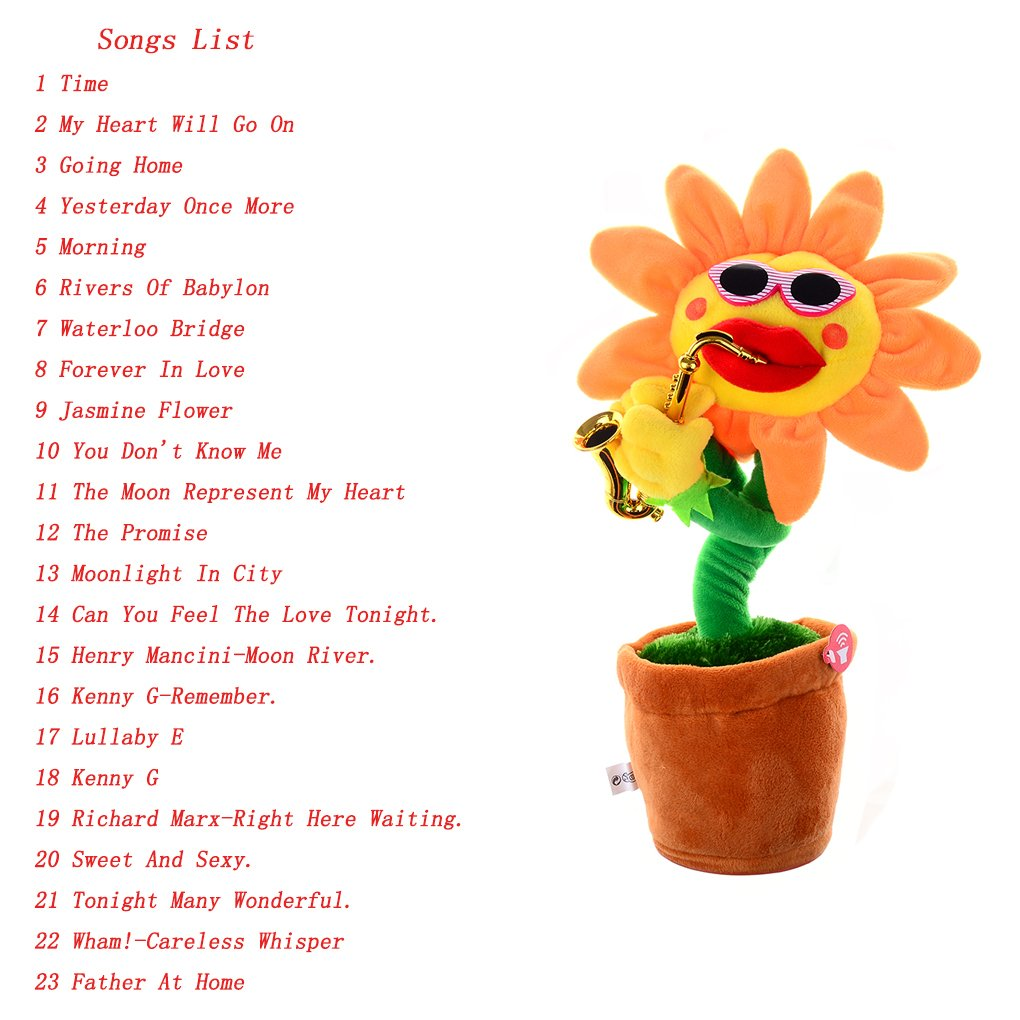 Amazon Ensunpal 1 Pc Funny Soft Plush Toy Creative Singing And