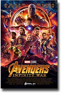 Avengers Infinity War Poster Movie Promo 12x18 inches Main Print Limited Edition Print Frameless Art Gift