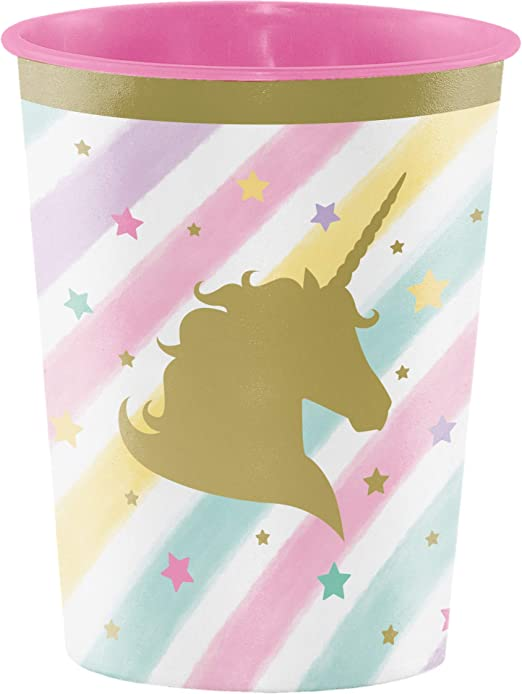 Amazon.com: Unicornio Sparkle 16oz vaso de plástico: Kitchen ...