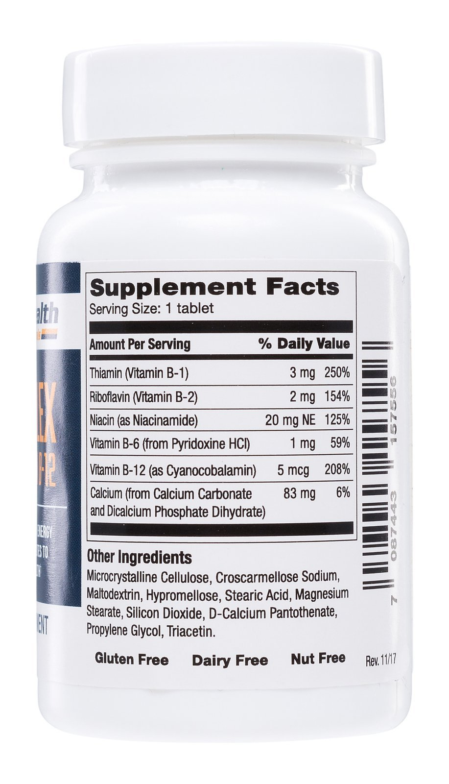 Safe Health Nutritionals B-Complex with Vitamin B-12 Tablet by Safe Health Nutritionals (Image #2)