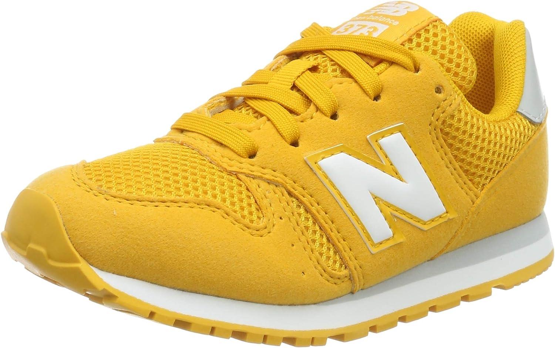 New Balance Boys 373 Trainers, Gold Rush
