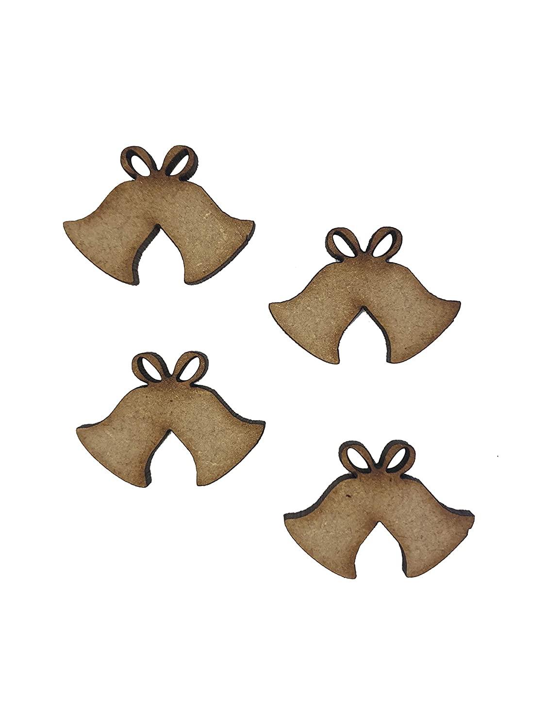 20x Trains 3cm Wood Craft Embelishments Laser Cut Shape MDF
