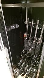 Stack-On GCG-14P Steel 14-Gun Steel Security Cabinet, Hunter Green ...
