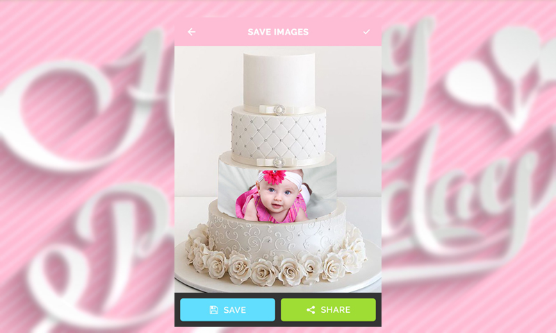 birthday song with name maker , cake on photo name , Age