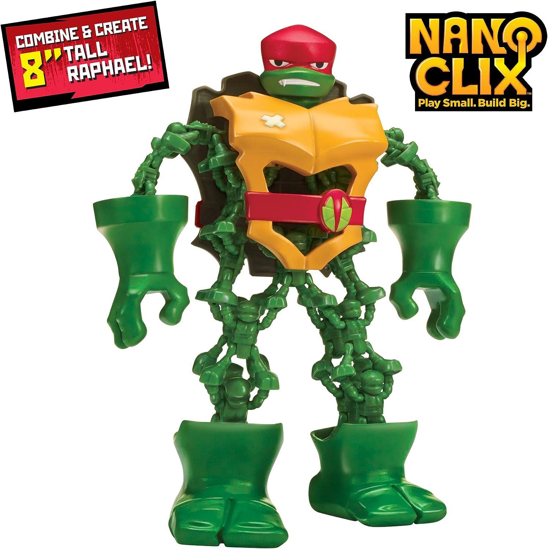 Rise of the Teenage Mutant Ninja Turtles Nano Clix Raphael Figure