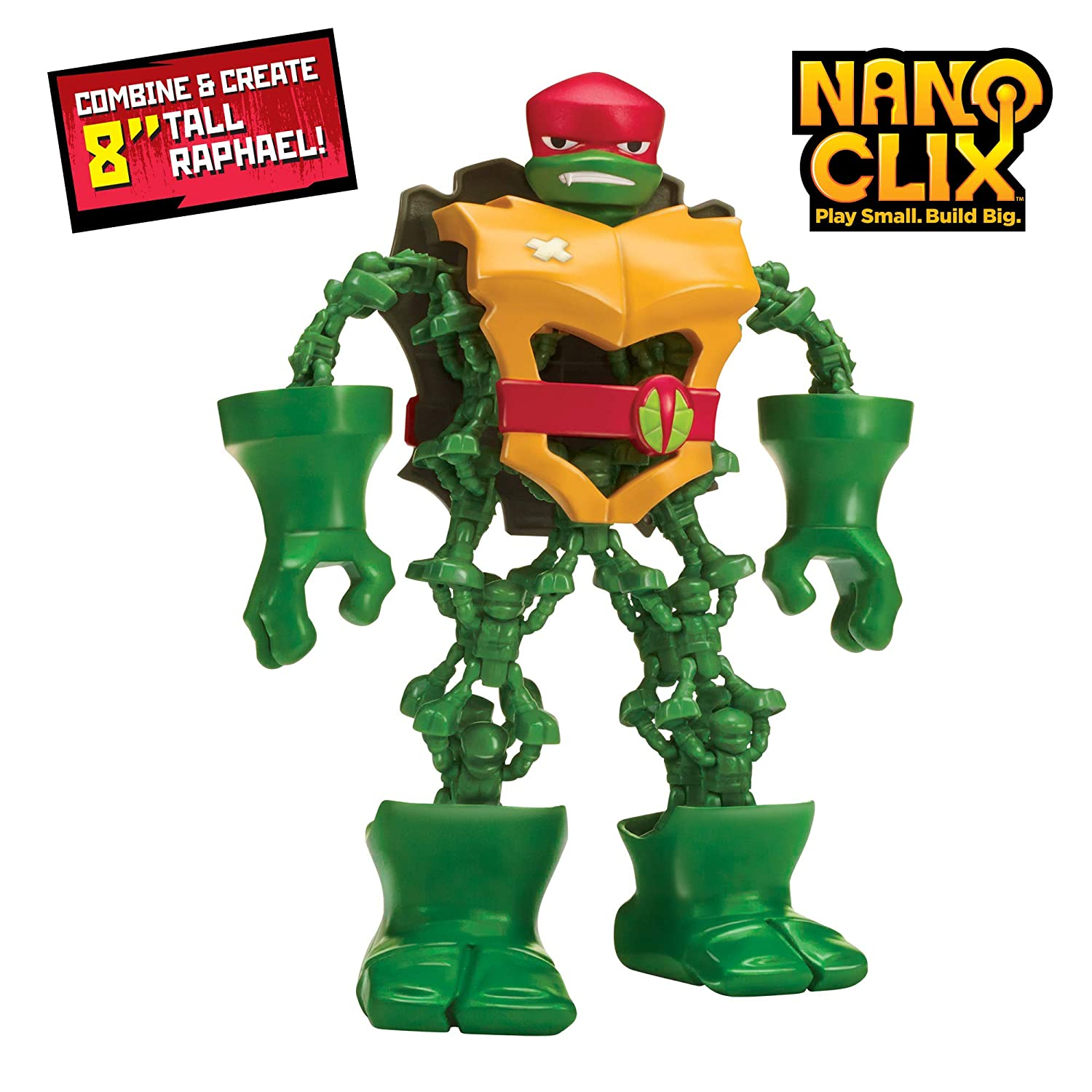 Rise of the Teenage Mutant Ninja Turtles Nano Clix Raphael Figure