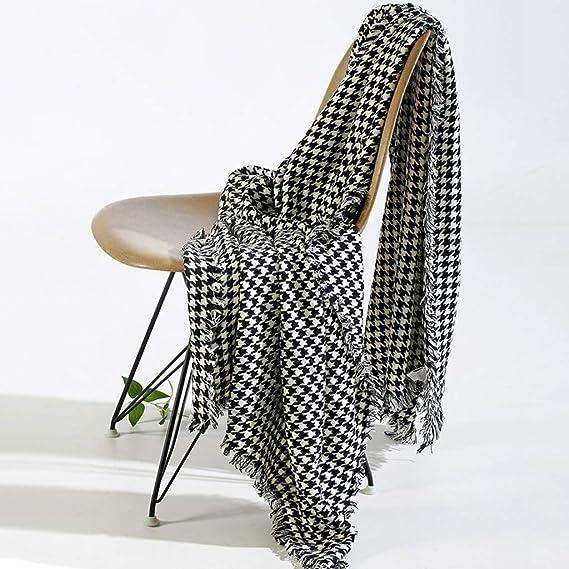 Amazon.com: LRXG - Manta para sofá o cama, diseño moderno ...