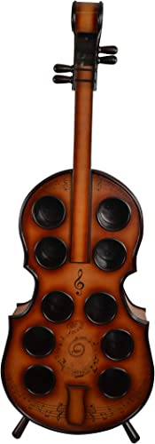 Wine Bodies Wood Violin Cello Wine Rack Bottle Holder
