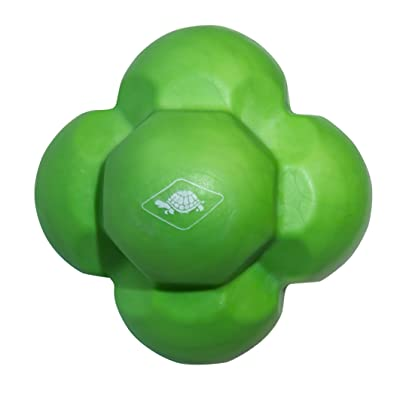 Donic-Schildkröt 2287963 Balle d'Exercice Mixte Enfant, Vert Citron, 70 mm