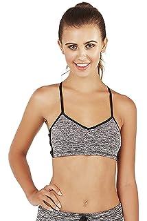 a122707725 Womens South Beach Eclipse Crop Bra Top Or Ladies Mantra Skinny Fitness  Leggings Grey